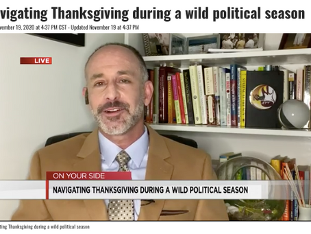 A Political Pandemic Thanksgiving?