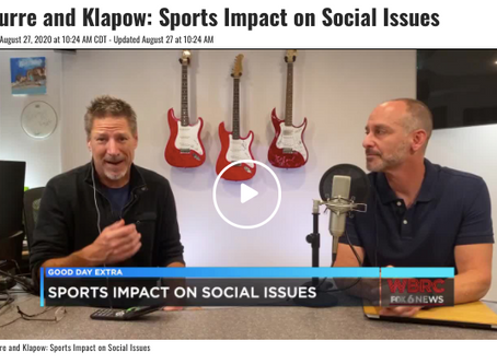 FOX6 Interview: Sports and Social Issues