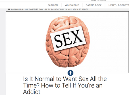 When Does Sexual Desire Become An Addiction?