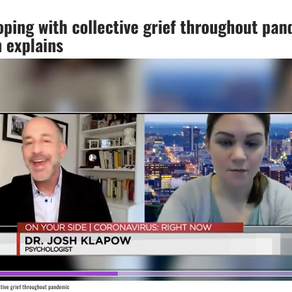 Many coping with collective grief throughout pandemic