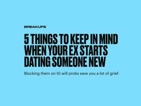 My Ex Is Dating Again