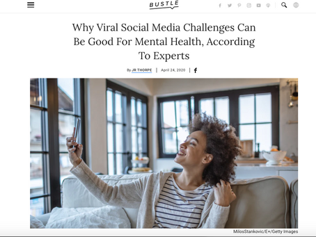 Why Viral Social Media Challenges Can Be Good For Mental Health
