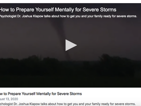 Are You Mentally Ready For Severe Weather?