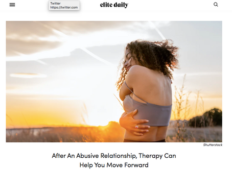 Therapy After An Abusive Relationship.