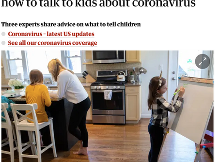 'No, we aren't all going to die': experts on how to talk to kids about coronavirus