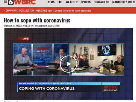 Daily Life In A Coronavirus World