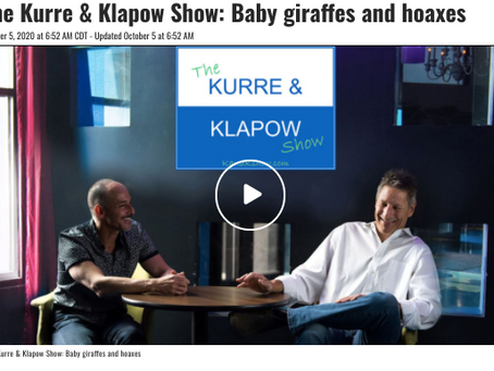 Kurre and Klapow TV: Giraffes and Hoaxes.