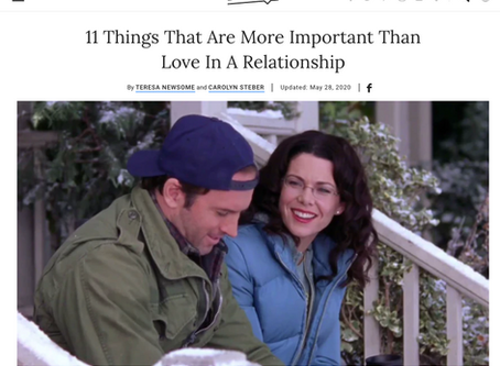 It's Not All About Love: 11 Things That Are More Important Than Love In A Relationship.