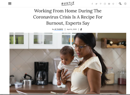 Working From Home During The Coronavirus Crisis Can Be A Recipe For Burnout