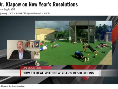 No Resolutions in 2021?