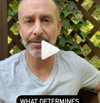 Dr. Josh's IG Reel: What Determines Your Experiences?