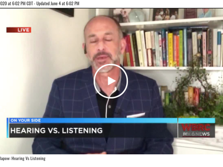 Defensive Listening: A FOX6 Interview