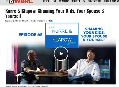 Kurre and Klapow TV: Shame, Shame, Shame