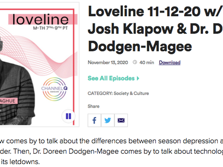Dr. Josh On LoveLine