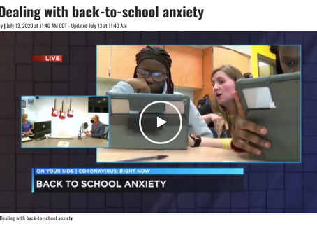 The Move Back To School: How To Manage The Stress