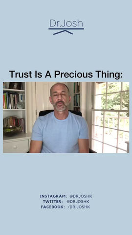 Trust: Don't Take It For Granted