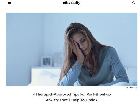 Post Break-Up Anxiety