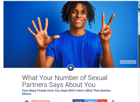 What Your Number Of Sex Partners Says About You And Your Relationships.