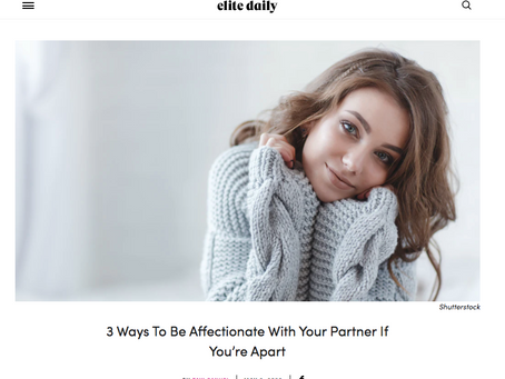 How To Show Affection When You Can't Be With Them