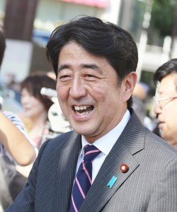Abe, Japan ruling LIberal Democratic party