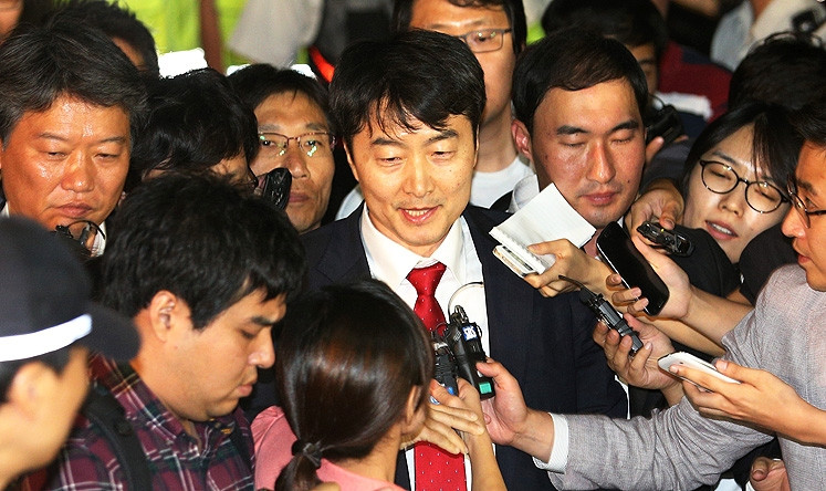 South Korean National Assemblyperson Lee Seok-ki denies charges of treason. (Photo AP)