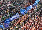 Political And Economic Struggle In South Korea