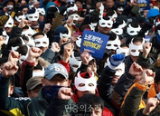 Union-Led Popular Protests Push to Oust South Korean President