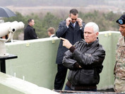 After Surprise Visit to DMZ, Pence Tells North Korea 'All Options Are on the Table'