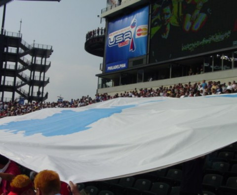 Large Unification Flag (FIFA 2003)