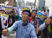 Peace Activists Blocked from Entering South Korea