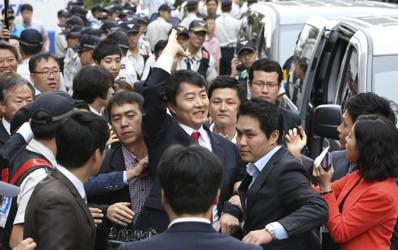 South Korea lawmaker, Lee Seok Ki, arrested in recent crackdown. Photo/Yonhap, Kim Ju-sung