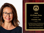 Christine Ahn Awarded 2020 US Peace Prize