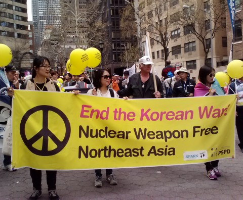 Peace and Planet March and Festival in NYC, April  26th, 2015  (photo KPI)
