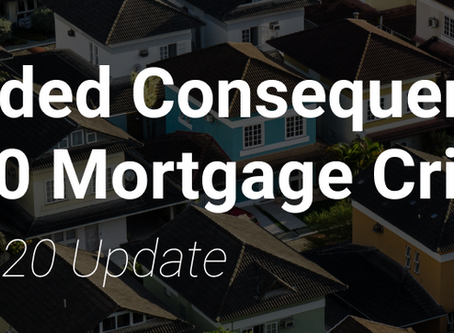 Unintended Consequences of the 2020 Mortgage Crisis