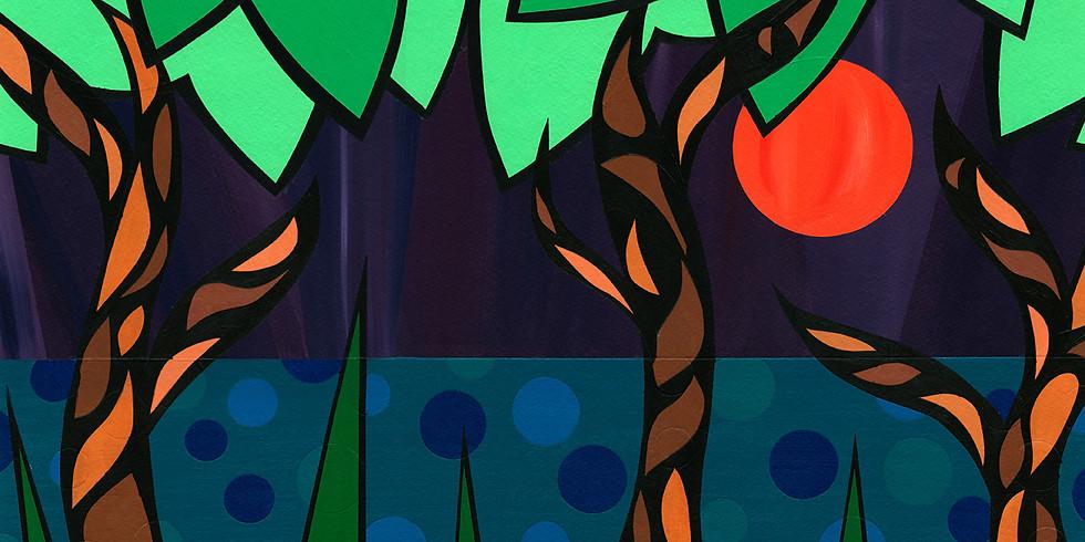 Art Opening Reception - A Resplendent Array of Line and Color - Artworks by Valerie Berner