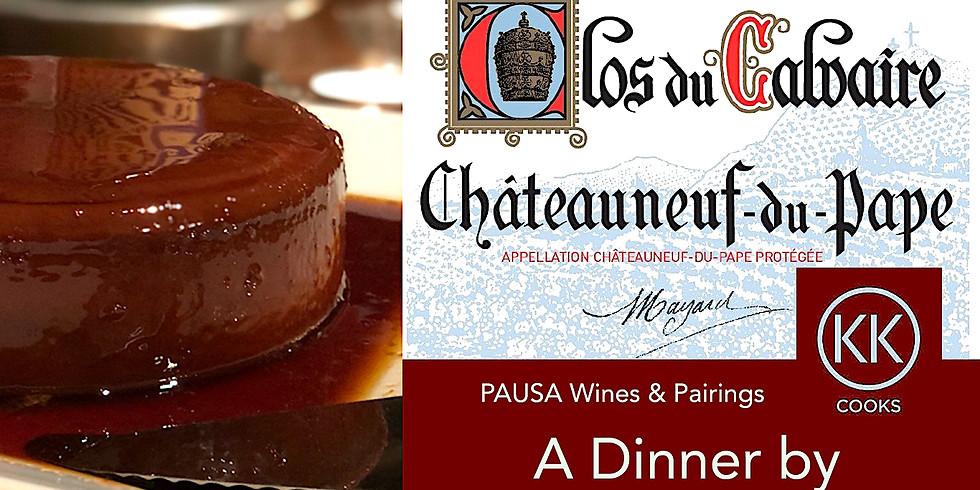 PAUSA Wines & Pairings - Dinner for Two with KKayCooks