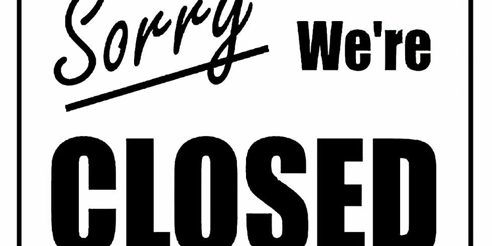 CLOSED FROM DEC 29th TO JAN 8th - HAPPY NEW YEAR!!!