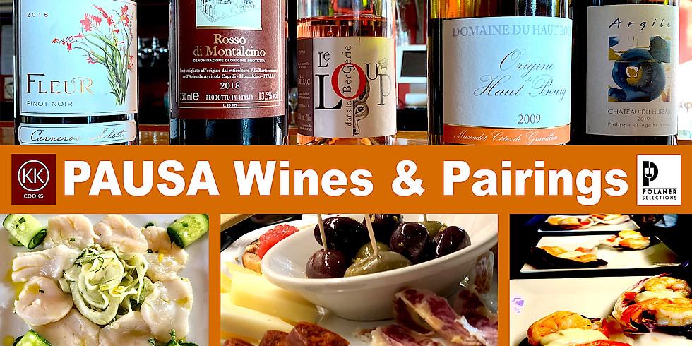 PAUSA Wines & Pairings - Oregon Wines