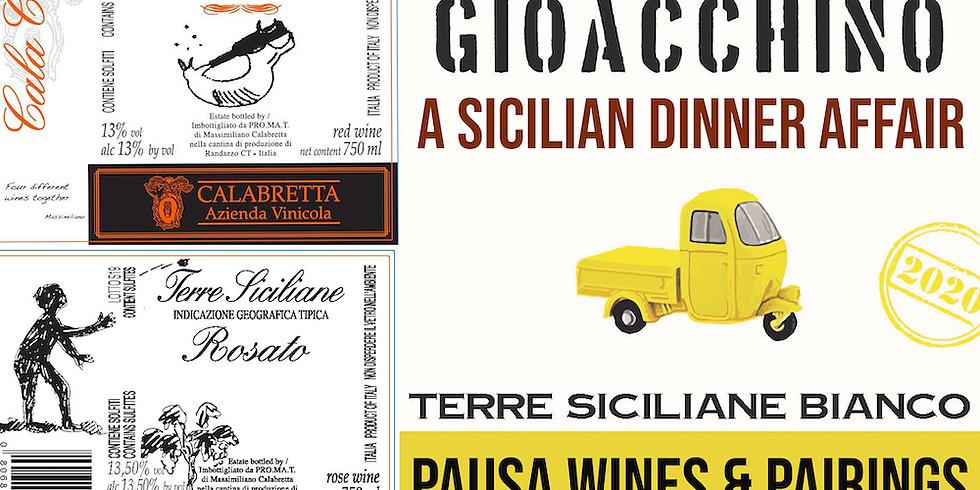 PAUSA Wines & Pairings: A Sicilian Dinner Affair