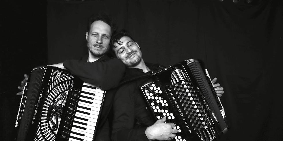 JJ Pol Ton Accordion Duo: Jeremy Spindler and Paul C. Kozlowski