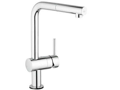 Grohe Minta Touch Single Lever Pull Out Spray L Spout