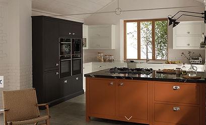 In Frame kitchen doors