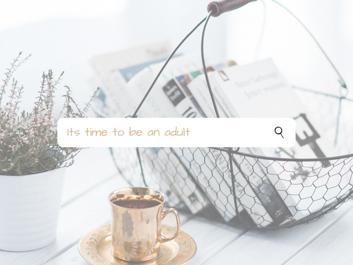 Chapter 12 - Adulting