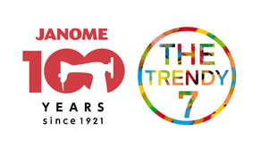Celebrate Janome's 100 Years with a Stylish Pin by The Trendy 7!