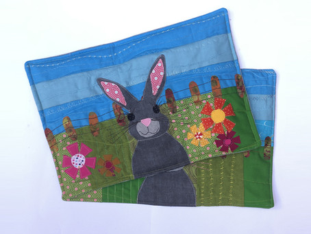 GillyMac Designs Easter Project with Janome!