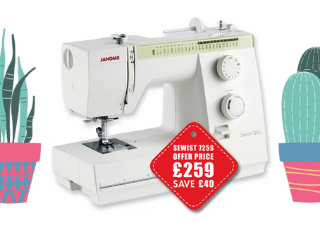 Our Sewing with Style Spring Offers are Back!