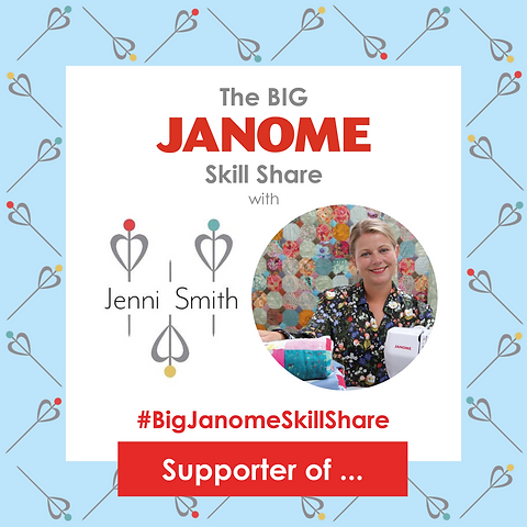 6563 - The Big Janome Skill Share Jenni
