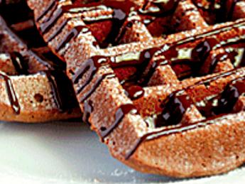 Mother's Day Breakfast - Vegan Peanut Butter Waffles