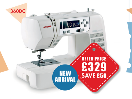 Our Sewing with Style Offers are back for Autumn!