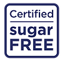 Certified Sugar Free Logo
